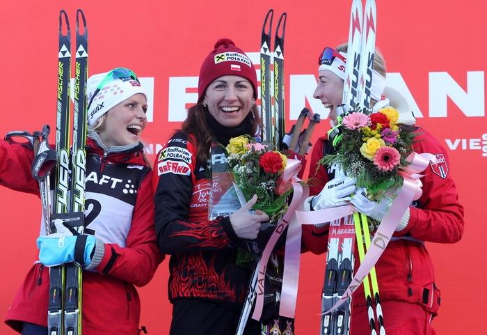 Justyna Kowalczyk w Tour de Ski